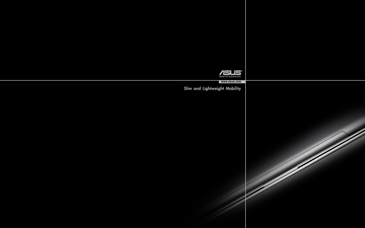 Asus Black Wallpaper: Обои ASUS